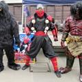 Photos: 覚 と 武蔵忍法伝 忍者烈風 と 赤鬼