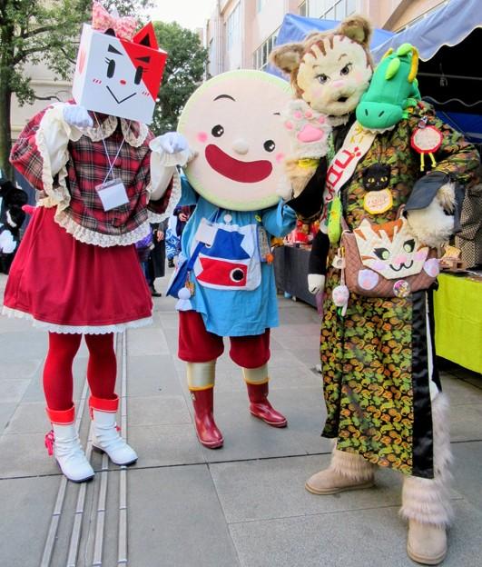 アカロー と ごかぼちゃん と カンフーキャット ゴロちゃん
