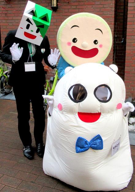 笹郎 と モチロボ と ごかぼちゃん