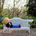 Photos: ベンチでの一コマ その1