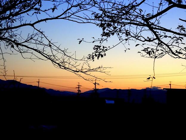 身近な夕景1