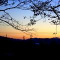 写真: 身近な夕景1