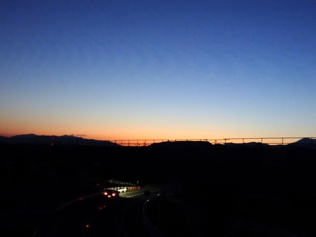 Photos: 身近な夕景1