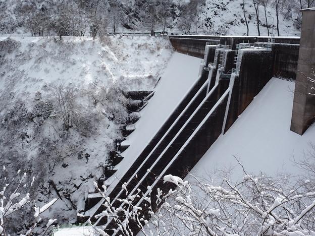 雪中の内川ダム(再アップ)