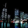 Photos: 港町の夜景