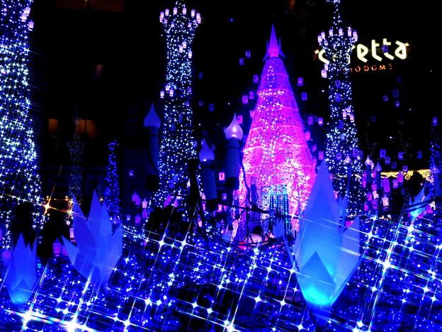 クリスマスイルミ