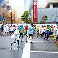 Photos: 雨の東京マラソン