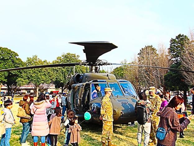 Photos: 陸軍のヘリ
