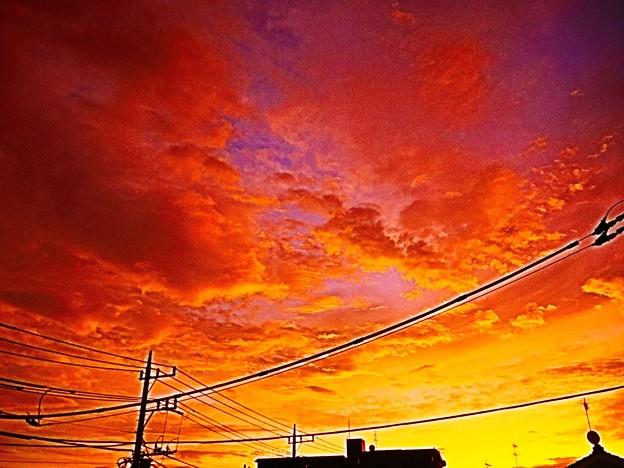 Photos: 朝焼け~