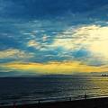 Photos: 海と夕日