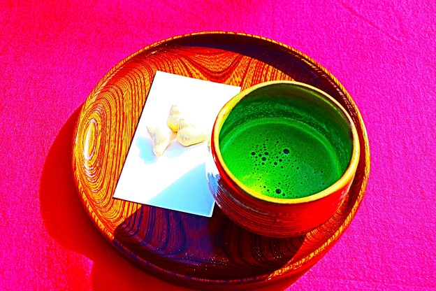 Photos: お抹茶