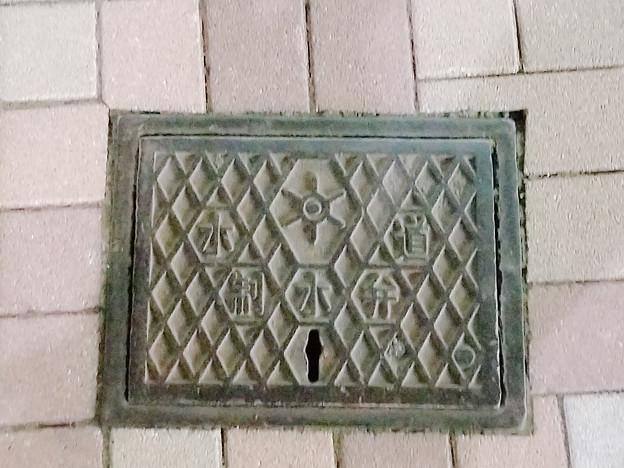 東京都のフタ(水道制水弁)
