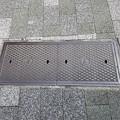 写真: 逓信省のフタ