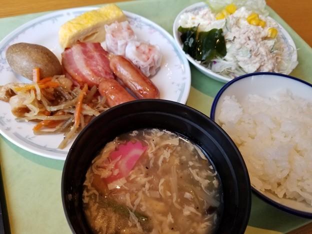 180818【スターライトホテル】朝食バイキング(北海道芦別市旭町油谷1)