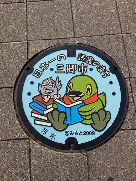 埼玉県三郷市のフタ(汚水)