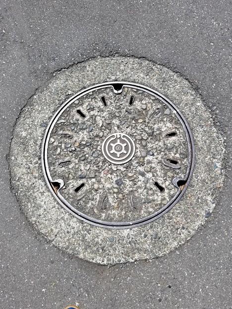 皇居のフタ(東京都下水道局)