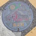 千葉県水道局のフタ(消火栓)