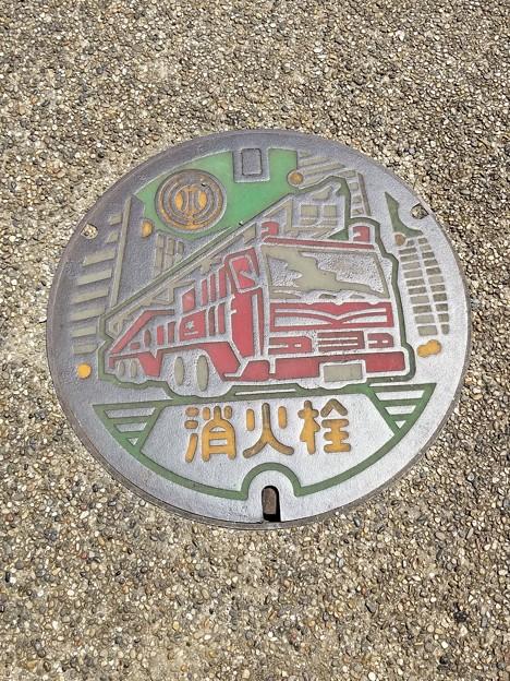 Photos: 千葉県水道局のフタ(消火栓)