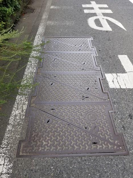 東京都下水道局のフタ