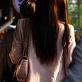 髪の毛の長い人