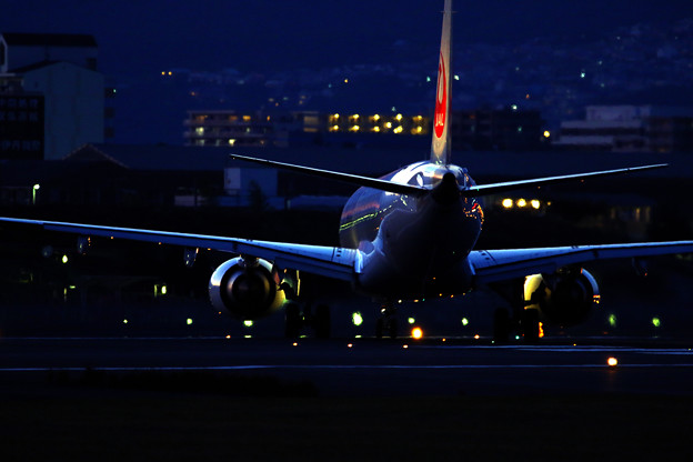 The beauty of the airplane.