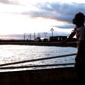 Photos: 彼と海