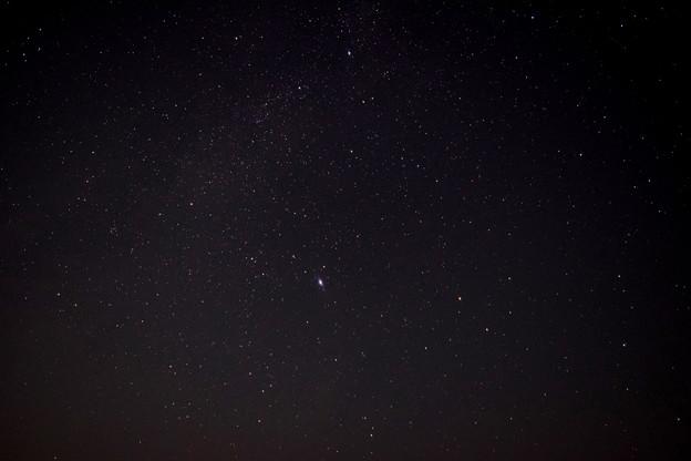 白鳥座と天の川とM57