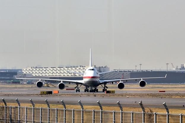 B747政府専用機