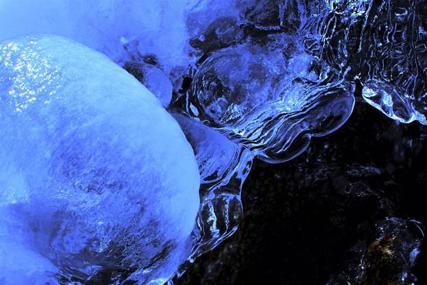 Photos: 水と氷の造形 2