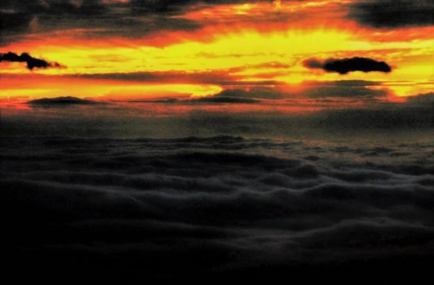 Photos: 雲海に日昇る