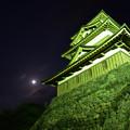 Photos: 月と天守閣