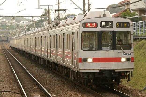 日中8590系が運用に就くことは少ない。