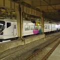 Photos: 新宿駅に到着した臨時夜行快速諏訪湖花火大会号