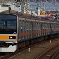 中央線快速電車に活躍の場を移した209系1000番代