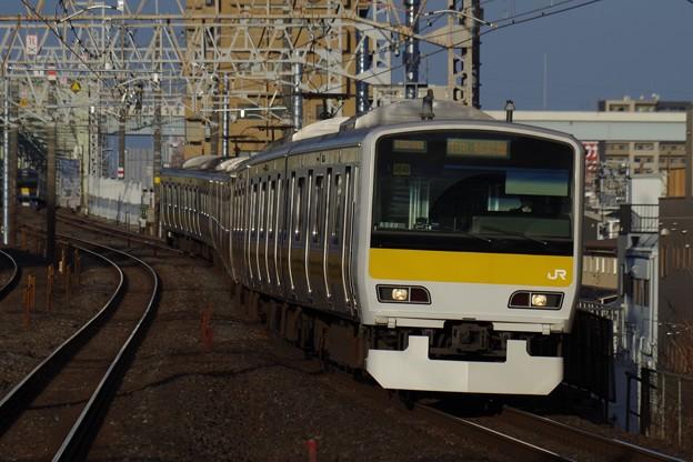 中央・総武線各駅停車に活躍の場を移したE231系500番代