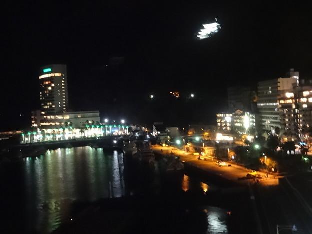 熱海湾の夜景  1