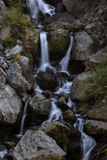 坂本町 走水白滝 下部滝面
