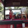 写真: 舞踊@浅間神社