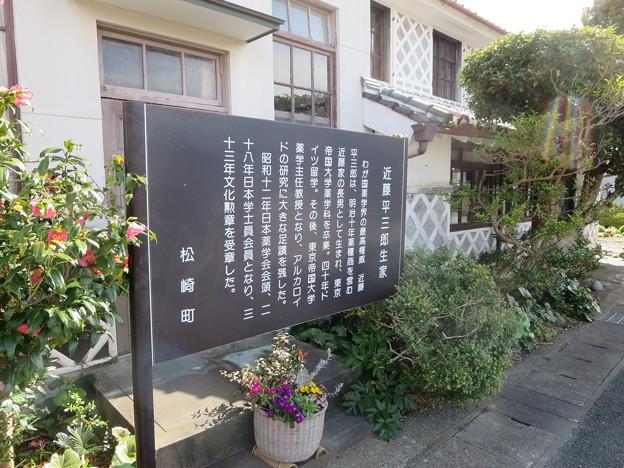 なまこ壁の家(近藤平三郎の生家)