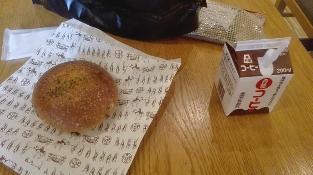 カレーパンに参勤交代の包装@箱根ベーカリー