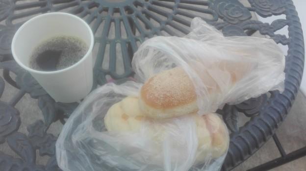 きな粉揚げと富良野メロンパン