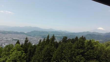 菜の花台 富士山