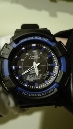 自転車用腕時計の購入