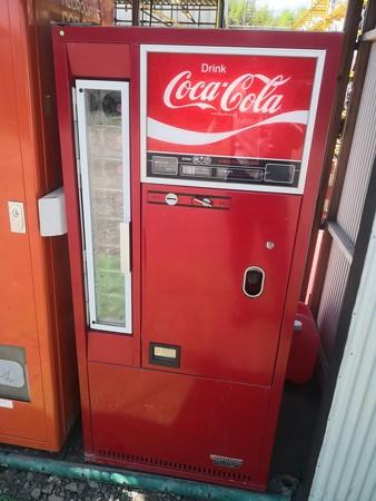 コカ・コーラの瓶じゅーずの自動販売機