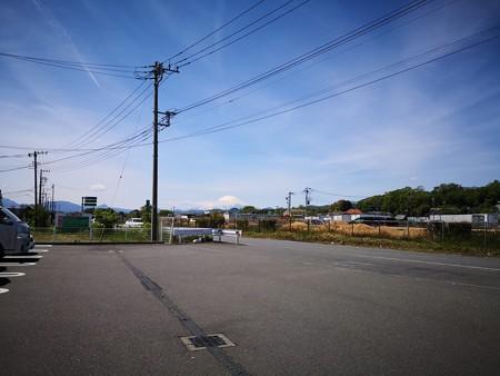 綺麗な富士山(小田厚側道@平塚)