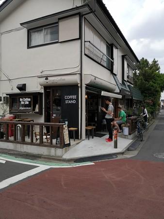 Good man coffee 店内