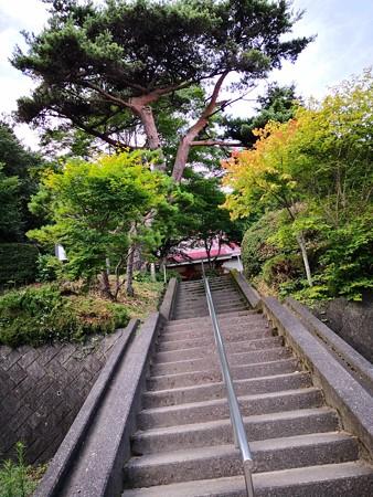 日輪寺 階段