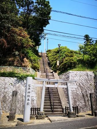 琴平神社 本殿への階段