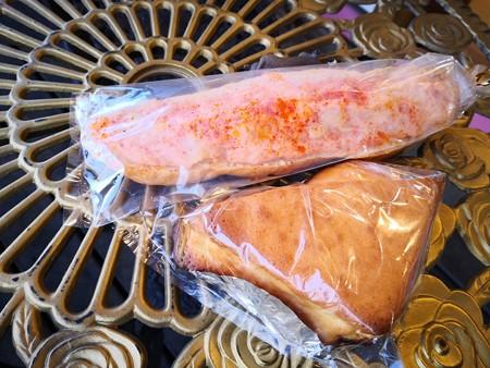 トライアングルと明太子ポテト