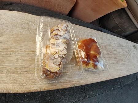 フランジパームオランジュとミルクパン@穂の香